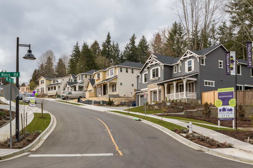Rosewood, Village Life new construction Bothell