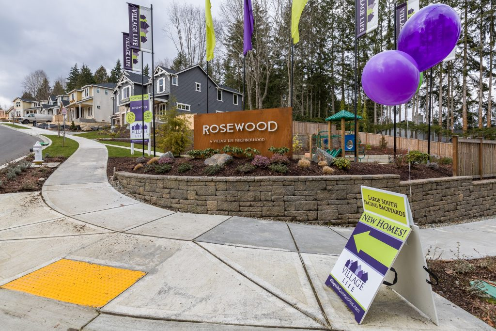 Rosewood new construction Bothell