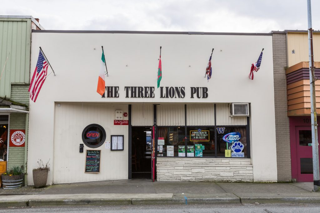 Bothell Three Lions Pub
