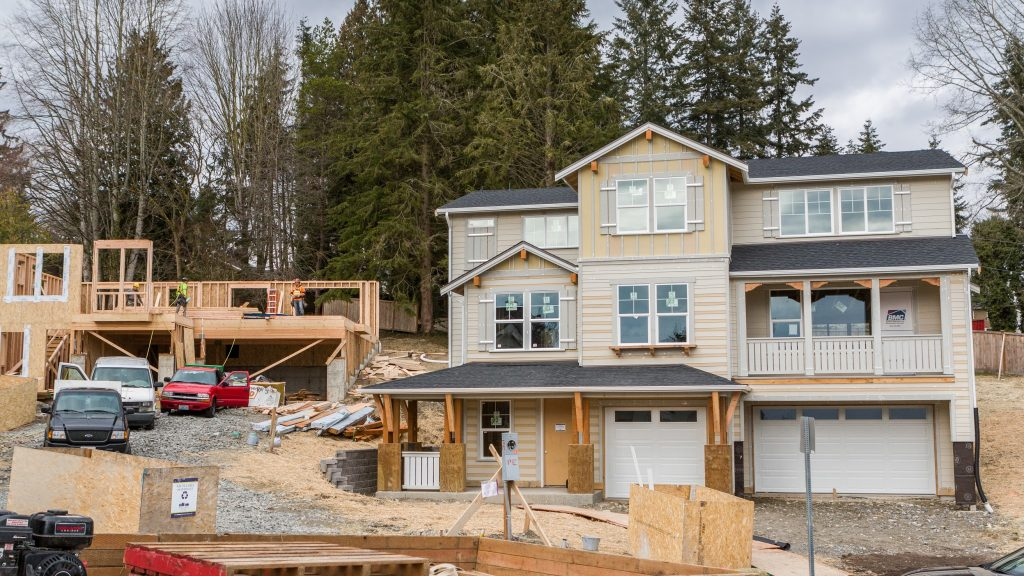 Bothell new construction project