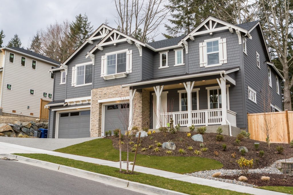 Sundquist Homes new construction Bothell