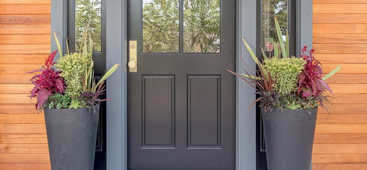 frontn door